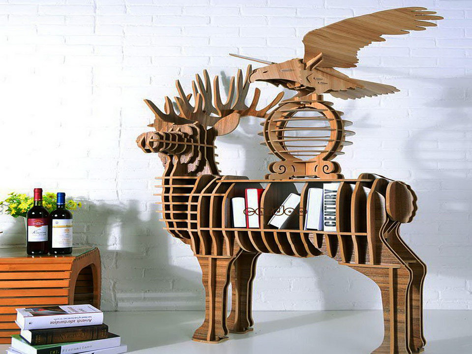 3D полки для книг
