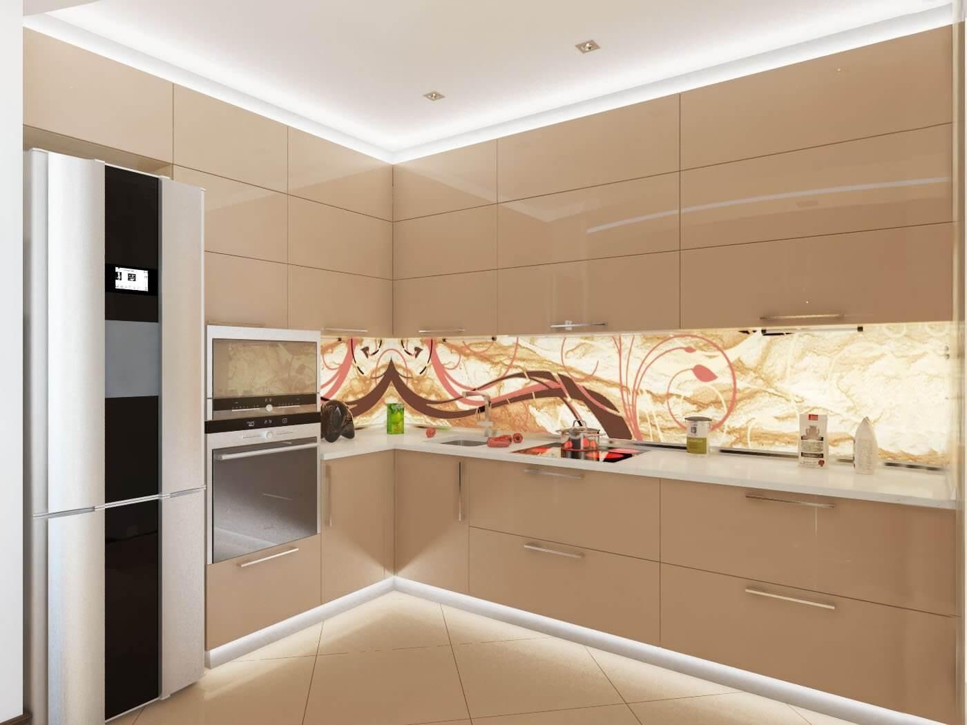 Кухня в стиле шампань