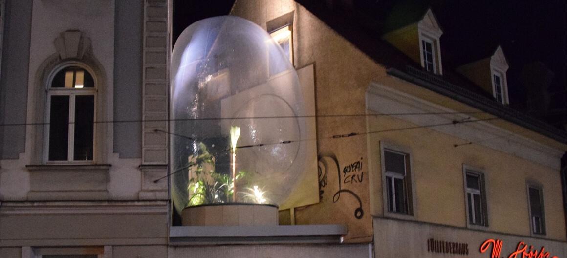 Парниковый пузырь прямо в городе