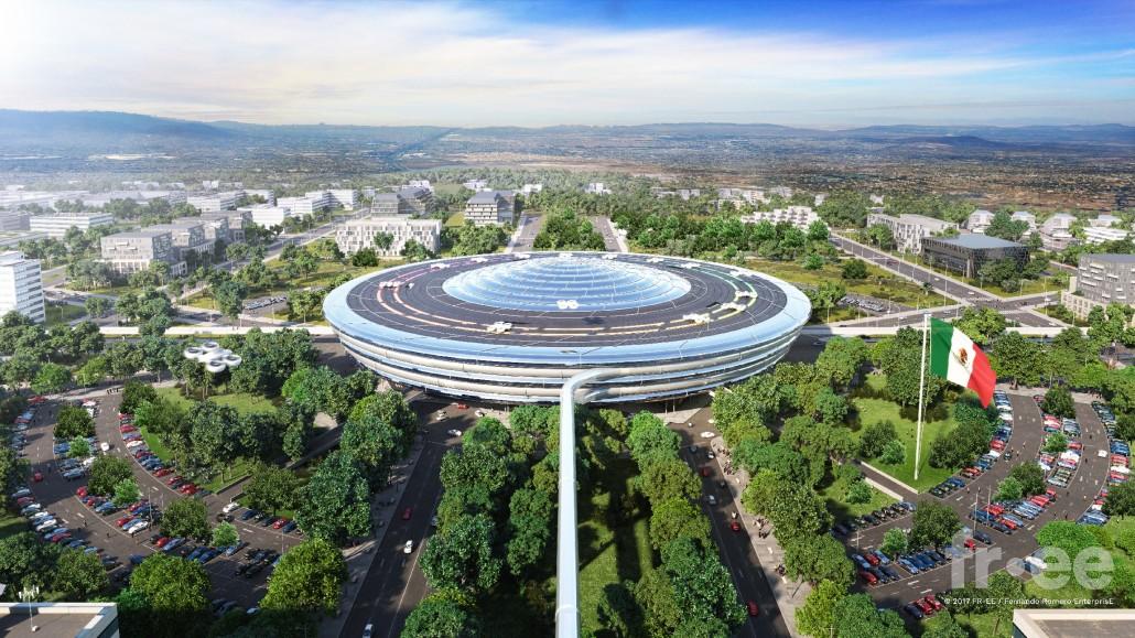 Архитектор Фернандо Ромеро стал победителем конкурса от Hyperloop One