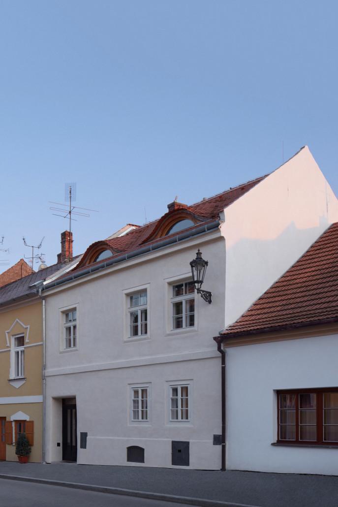 Гостевой дом в здании ренессансной эпохи в Чехии