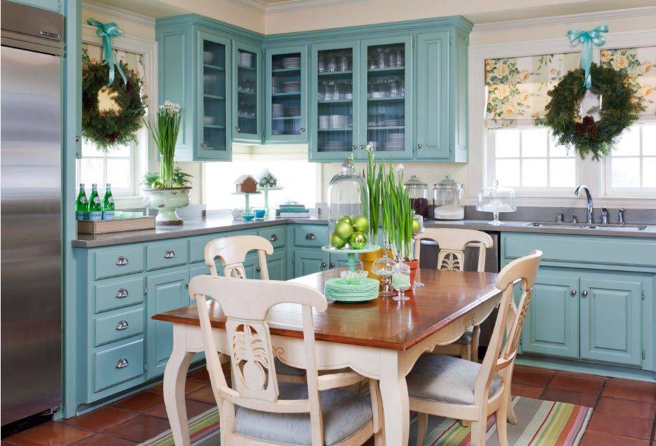 Стильный декор кухни своими руками: доступные решения на фото