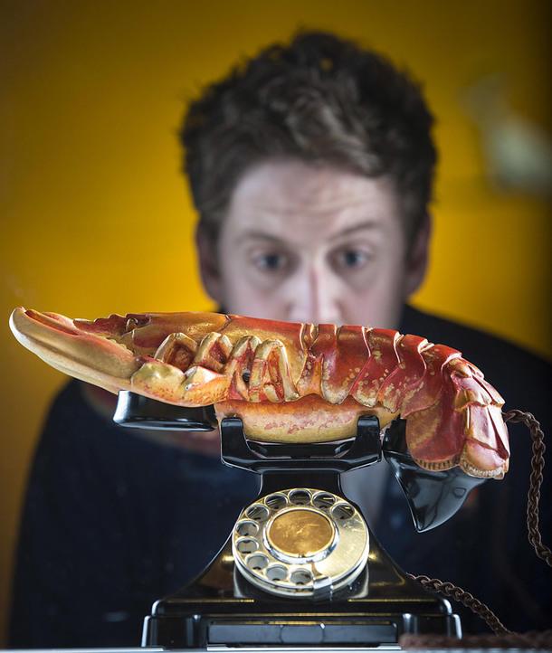 Сальвадор Дали, Lobster Telephone, 1936