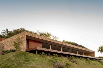 Дом над вечным простором в Бразилии