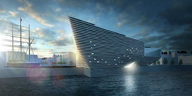 2. Kengo Kuma & Associates: V&A Museum of Design Dundee, Данди, Шотландия