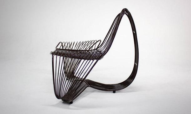 Стул Conchita — совмещает в себе ручную работу мастеров и 3D-печать