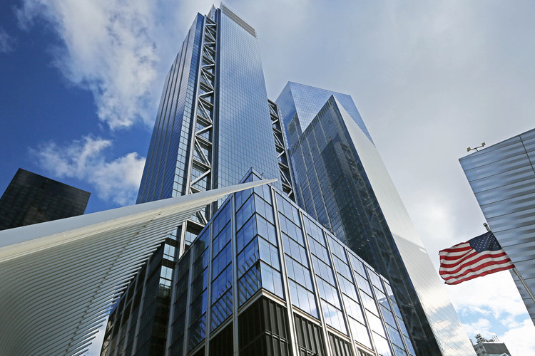 7. Rogers Stirk Harbor + Partners: 3 World Trade Center, Нью-Йорк