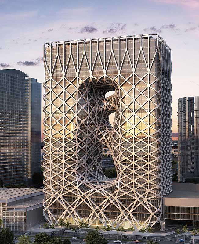 1. Zaha Hadid Architects: Morpheus Hotel, Макао