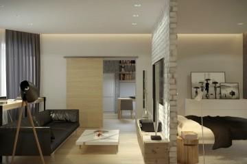 Дизайн однокомнатной квартиры – скромность не в тренде!