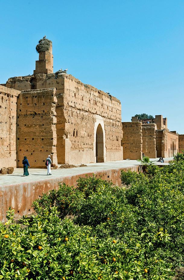 Дворцы Эль-Бади и Бахия
