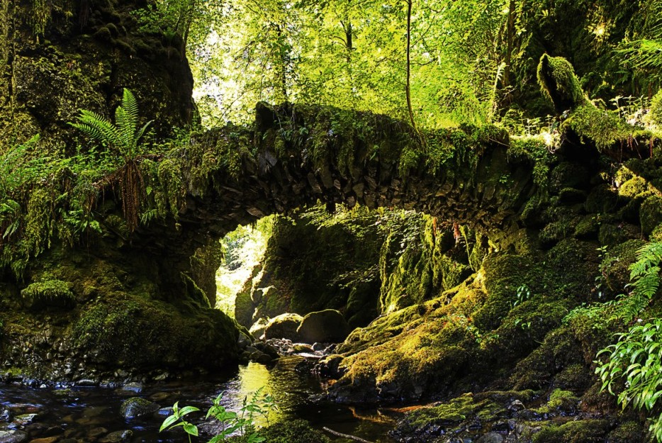 7.  Фэйри-Бридж (Волшебный мост), Шотландия