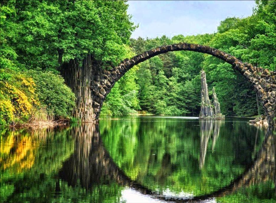 11. Ракотцбрюке (Чёртов мост), Германия