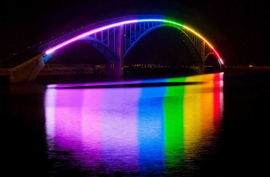 14. Радужный мост, Тайвань