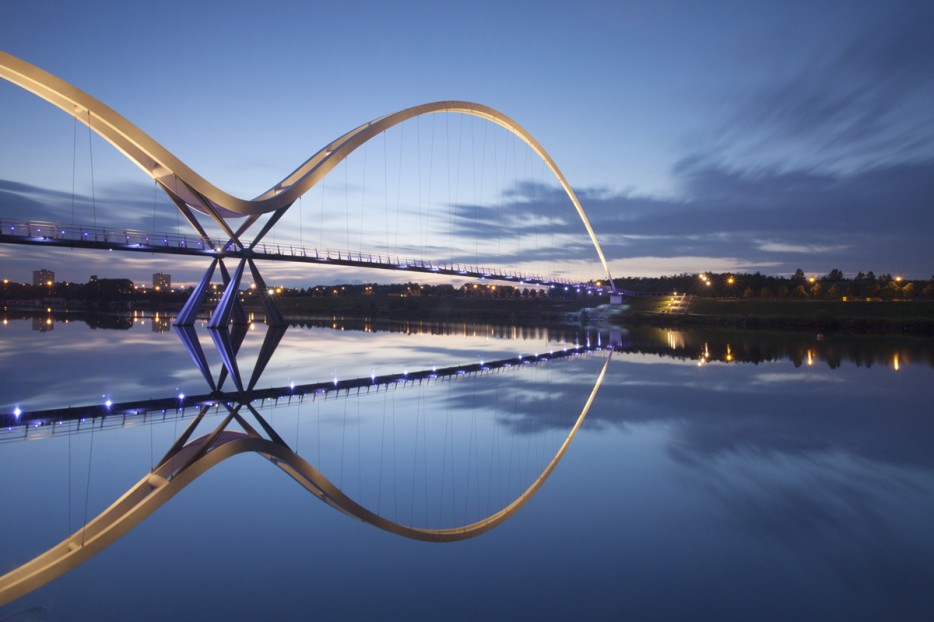 15. Мост Бесконечности, Стоктон-он-Тис, Великобритания