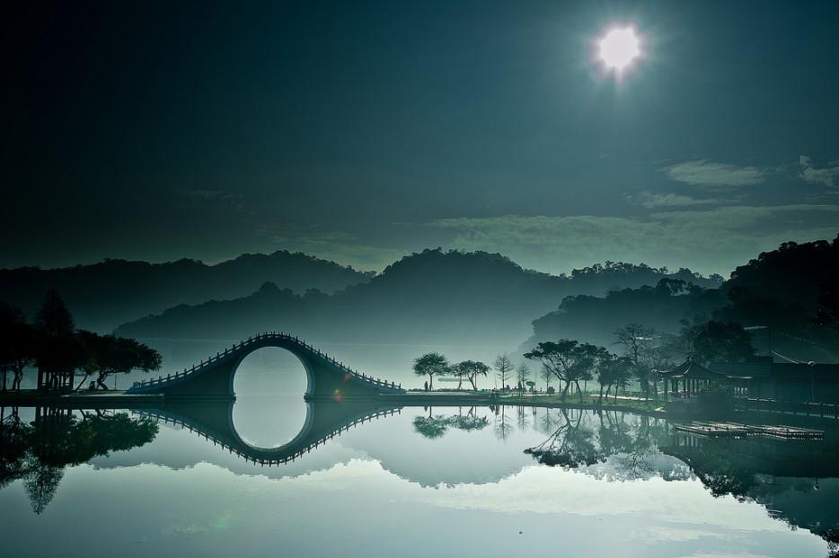 16. Лунный мост, Тайбэй, Тайвань