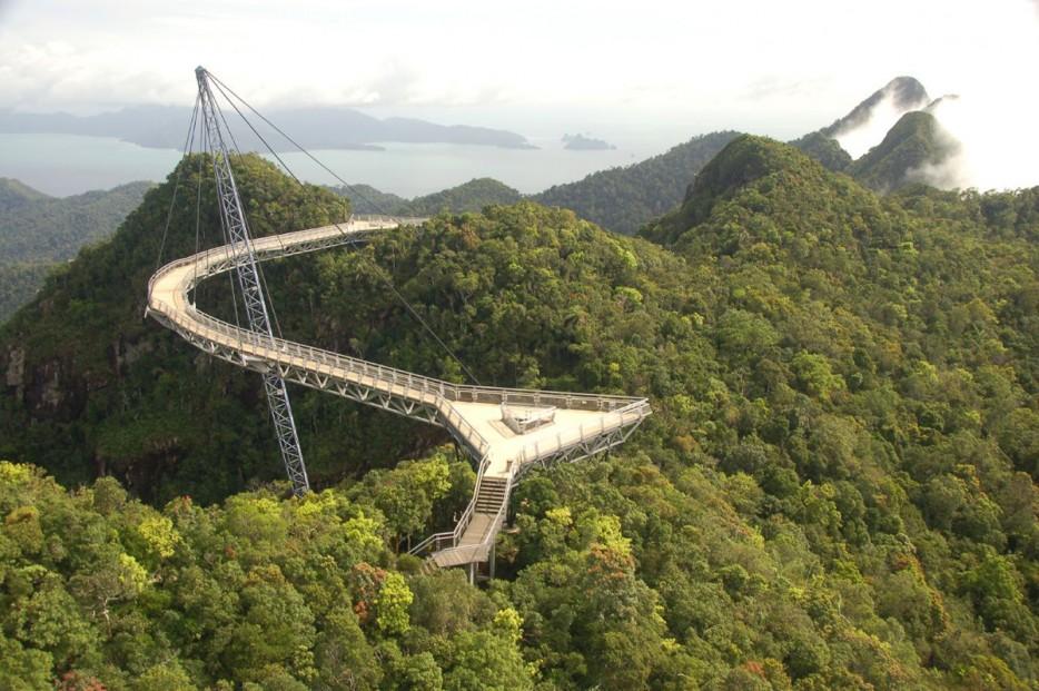 18. Небесный мост, Лангкави, Малайзия
