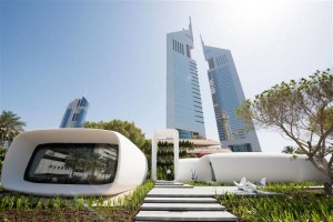 Офис будущего воплотился в 3d печати здания в Дубае