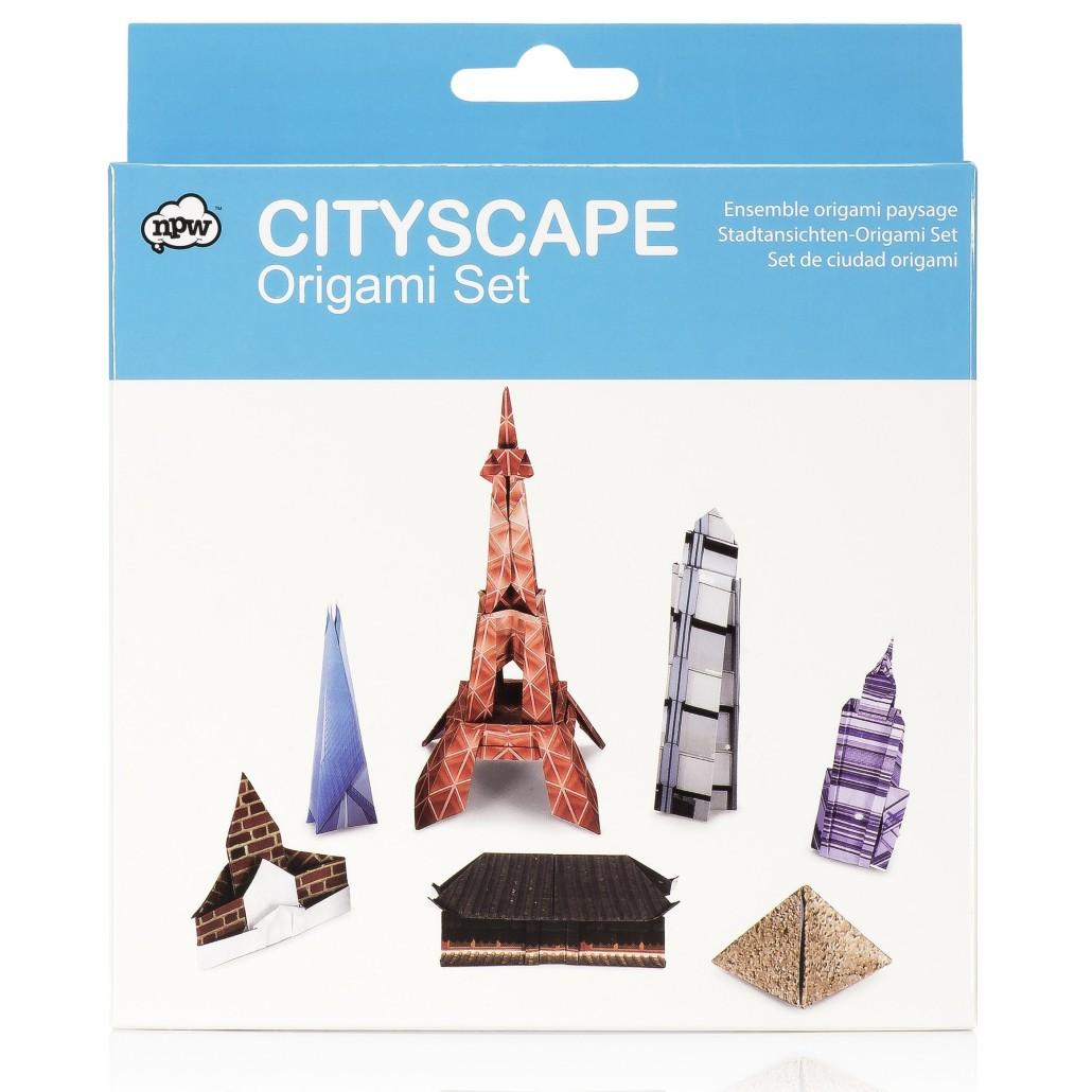 Оригами-сет: самые известные здания мира