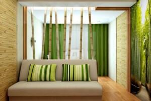 Бамбуковые обои — отголосок экологического бума в строительстве
