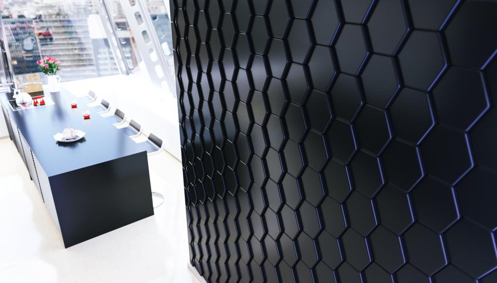Из чего изготавливают 3D панели?